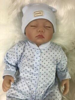 Nouveau-né De La Silicone Vinyl Reborn Dolls Handmade Baby Boy Soft Full Body Us