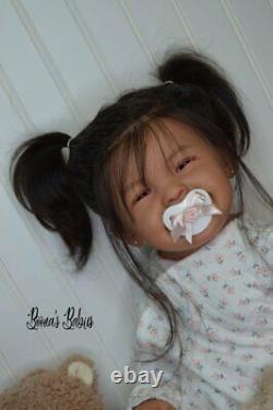 Nouvelle Libération! Commande Personnalisée! Reborn Baby Doll Toddler Girl Mila Par Ping Lau