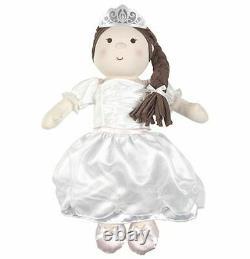 Nouvelle Marque Silver Cross Princess Doll Pram Poussette Avec Poupée Et Sac À Langer