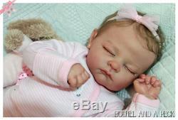 Personnalisés Pour Réincarné Andi Nouveau-né Baby Girl Doll