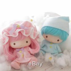 Petit Twin Stars En Vinyle Souple Poupée Set Kikilala Très Rare Sanrio Japon