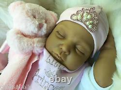 Poupées Cherish Ethnie Mixte Race Asiatique Reborn Doll Livvy Baby Girl Doll Uk Real