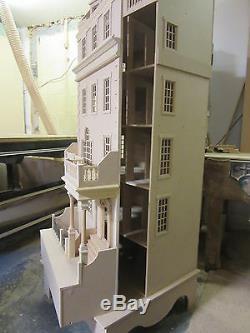 Poupées Maison 12 Échelle The Burlington Town House Dans Le Kit Dhd 15-02