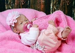 Prématuré Réincarné Baby Girl Full Body Réaliste Lifelike Jouet Cadeau Enfants Nouveau-nés