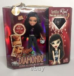 Rare Mga Bratz Forever Diamondz Jade Doll Nouveau Paquet Scellé Première Version