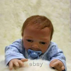 Realistic Reborn Newborn Boy Doll 22 Handmade Vinyl Silicone Baby Dolls Noël