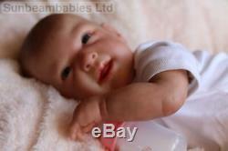 Reborn Baby Doll Ginger Belle Boite Ouverture De L'artiste 9yrs Marie À Sunbeambabies