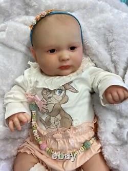 Reborn Bébé Fille Stupéfiante De Joseph 3 Mois Realborn 3d Scan De Vrai Bébé