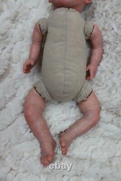 Reborn Dolls Bébé À 7lb Enfant Sûr, Membres Pleins + Bouteille Teddy Etc Sunbeambabies