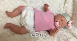 Réincarné Baby Doll Nouveau-né Vinyle Cadeaux Silicone Enfants Made Au Royaume-uni