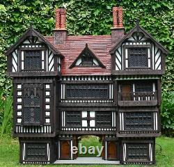 Robert Stubbs Tudor Dolls House, 112 Scale Brook House, Flambant Neuf