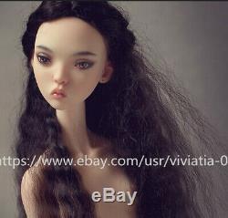 Russie Sisiter Doll Chevêche Doll 1/4 Boule-jointed Doll Face Vers Le Haut Sans Yeux Gratuit