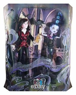 Sdcc 2015 Monster High Kieran Valentine & Djinni Whisp Grant 2 Pack Exclusif Le