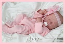 Si Doux Et Adorable! Berenguer Life Like Reborn Preemie Pacifier Doll + Extras