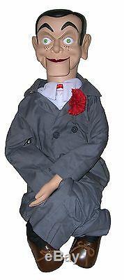 Slappy Amélioré Semi-pro Ventriloque Doll Puppet Dummy Acheter Direct + Cadeau Gratuit