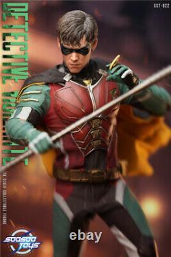Soosootoys 16 Sst022 Detective Vigilante 12inch Male Action Figure Doll Prévente