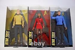 Spock Leonard Nimoy Barbie Star Trek Poupée Du 50ème Anniversaire Mattel Nouveau