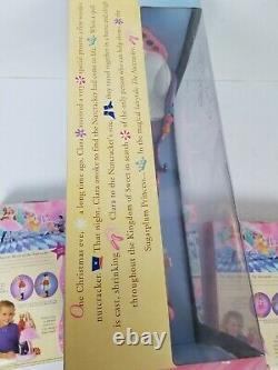 Sugarplum Princess Barbie Doll Prince Eric Candy Sleigh Nutcracker Ballet Lot 9