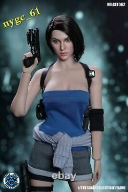 Super Duck 1/6 Résident Evil Femme Policeman Head & Suit C026 Fit 12'' Ph Doll