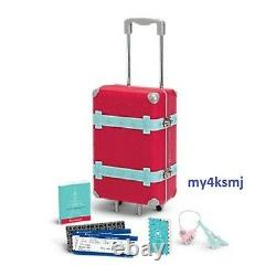 Tag Voyage American Girl Doll Grâce Luggage Set Valise Cas Passeport +