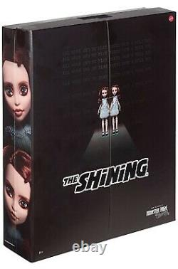 The Shining Grady Twins Monster High Collector Doll Mattel Nouveau