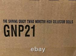 The Shining Grady Twins Monster High Collector Doll Mattel Nouveau, Navires Maintenant