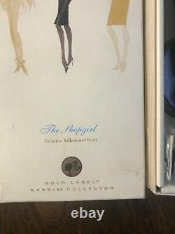The Shopgirl Silkstone Barbie Fashion Model Collection, Onf, Gold Label