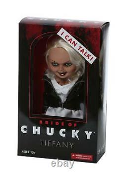 Tiffany La Mariée De Chucky Parlant 15 Mega Échelle Doll Mezco Horror 78105