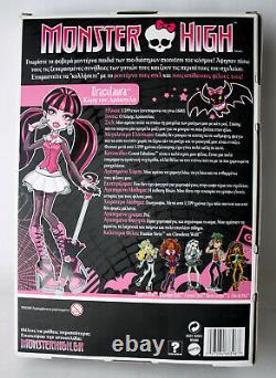Très Rare 2009 Monster High Draculaura 1ère Vague Mattel New Nos