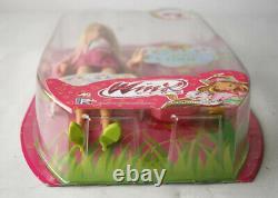 Très Rare 2009 Winx Club Love & Pet Flora & Coco Doll Rainbow Nouveau Scellé