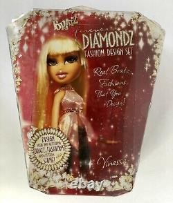 Vintage 2006 Bratz Forever Diamondz Fashion Design Set Vinessa Doll Mga Nrfb Nouveau