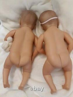 Vinyle Anatomique De Jumeaux Reborn De Garçon Et De Fille