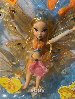 Winx Club Mattel Glam Magic Enchantix Stella Doll Nib